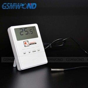 Image 3 - GSMWOND Detector de temperatura inalámbrico, Sensor de alarma de 433MHz, compatible con Alarma de alta y baja temperatura para nuestro sistema de alarma de casa