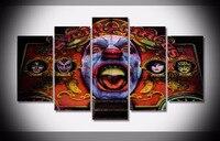 Artistic Originality Indoor Art Abstract Indoor Decor Wu Tang Clan Canvas Decoration 5 Pieces
