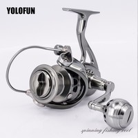Full Metal Sport Professional Fishing Spinning Reel Stainless Gear CNC Technology Carbon Textile Brake No Single Plastic Parts