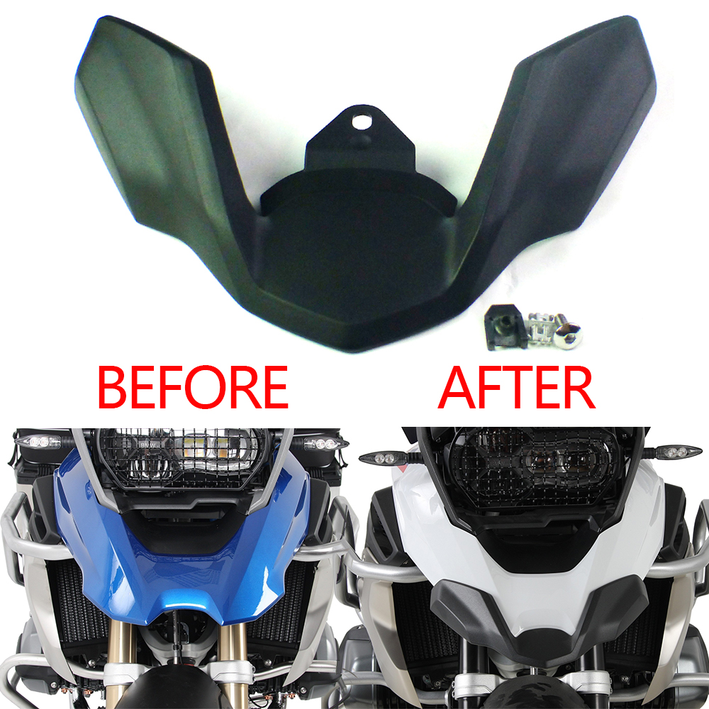 New For BMW R1250GS LC ADV R 1250 GS R1200GS Adventure LC 2018 2019 Motorcycle Front Beak Fairing Extension Wheel Extender Cover-in Covers & Ornamental Mouldings from Automobiles & Motorcycles