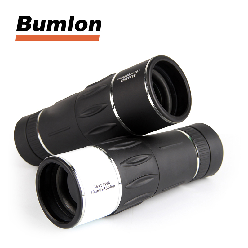Telescope Monocular Hunting Night-Vision Bird Watching Zoom Travel 35X95 for Concert