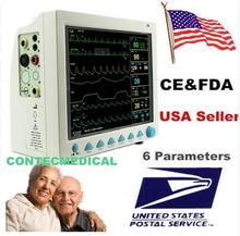 CONTEC CMS8000 ЭКГ Приборы для измерения артериального давления spo2 Пульс Температура дыхания ICU CCU мультипараметрический пациент Мониторы