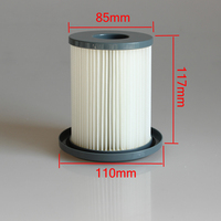 5pcs Vacuum Cleaner HEPA Filters For Philips FC8720 FC8722 FC8724 FC8732 FC8734 FC8736 FC8738 FC8740 FC8748