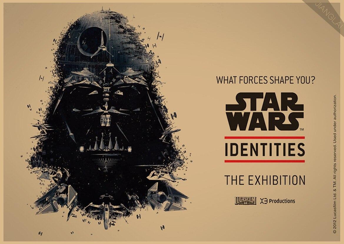 Vintage Star Wars Αφίσα Ρετρό τέχνης Τοίχο - Διακόσμηση σπιτιού - Φωτογραφία 2