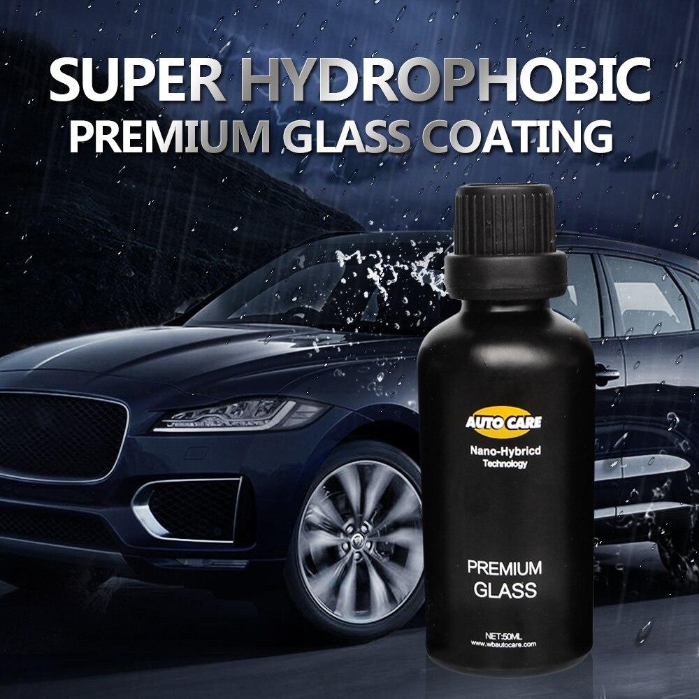 50 ml 9 H Auto Glas Kristall Beschichtung Regen & Wasser Repell Hochglanz Flüssigkeit Glas Auto Flüssigkeit Keramik Mantel fenster Beschichtung Nano Beschichtung