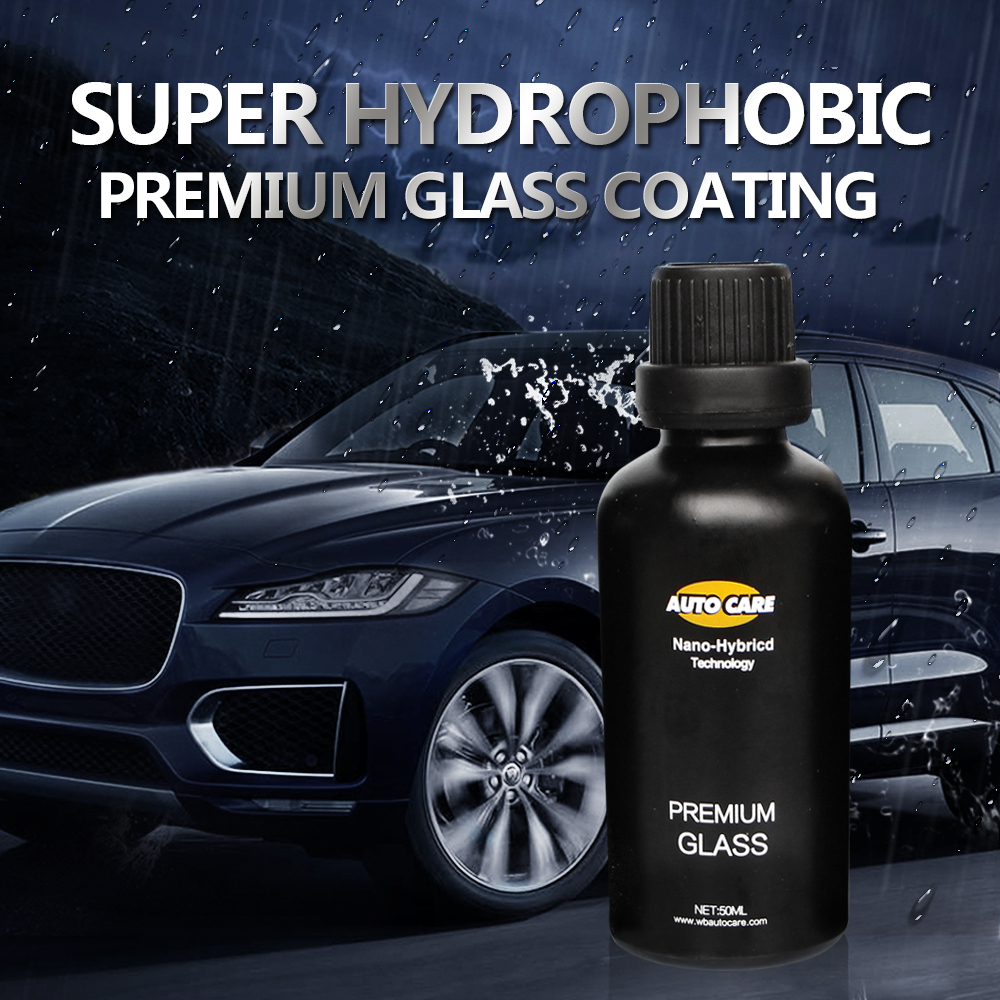50ML 9H Auto Glass Crystal Coating Rain&Water Repell High Gloss Liquid Glass Car Liquid Ceramic Coat Window Coating Nano Coating factors affecting the glass ceramic coating