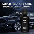 50ML 9H Auto Glass Crystal Coating Rain&Water Repell High Gloss Liquid Glass Car Liquid Ceramic Coat Window Coating Nano Coating