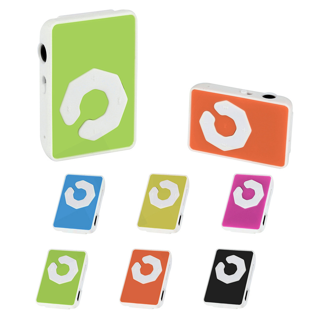 HIPERDEAL Mini Clip USB Mp3 Music Media Player Support 32GB Micro TF Card & Headset Special Gift For Children Girl QIY02