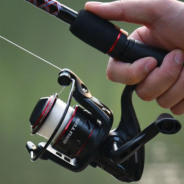 KastKing Brutus Spinning Fishing Reel 8KG Max Drag 4+1 Ball Bearings 5.0:1 Gear Ratio Graphite Body Freshwater Fishing Coil 5