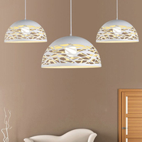 Metal Modern Table Ceiling Pendant Light Shade Lampshade Lamp Cover White For Home Garden Party Decoration