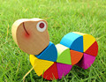 New Wooden Baby Toys Variety Color Puzzle Animal Toy Caterpillar Baby Educational Toys Baby Gifts