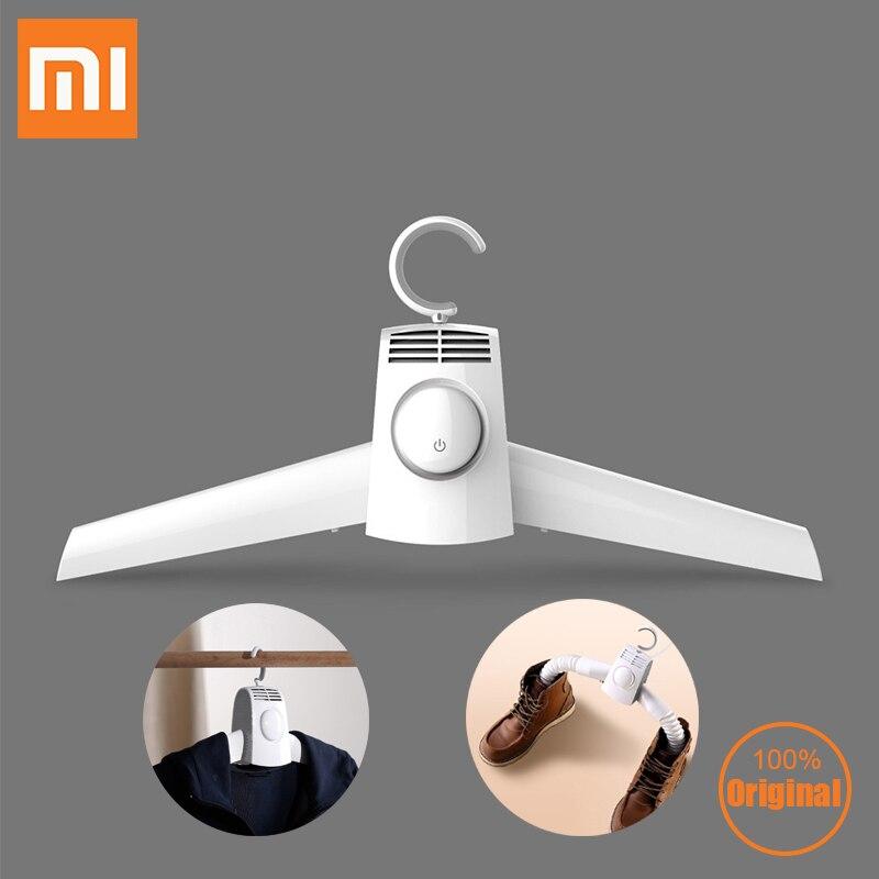 Xiaomi Mijia Smartfrog Portabe manteau sèche-linge chaussures porte-vêtements cintres pliable sèche-linge électrique cintres 35