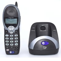 English Spanish French Language 2.4Ghz Cordless Telephone With Caller ID Call Waiting Adjust Ring Volume For Home Landline Phone
