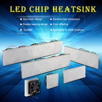 20W 30W 50W 60W LED Aluminum Heatsink Radiator Heatsink With Fan Led Radiator For Led Full