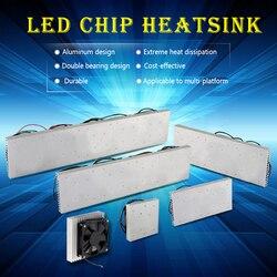 50 W 600 W 300 W 200 W 100 W LED de aluminio disipador de calor radiador con ventilador led radiador para led de espectro completo growlight led Luz de acuario