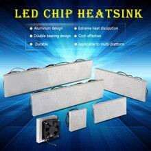 50W 100W 200W 300W 600W LED aluminum Heatsink radiator with fan led radiator for led full spectrum growlight led aquarium light