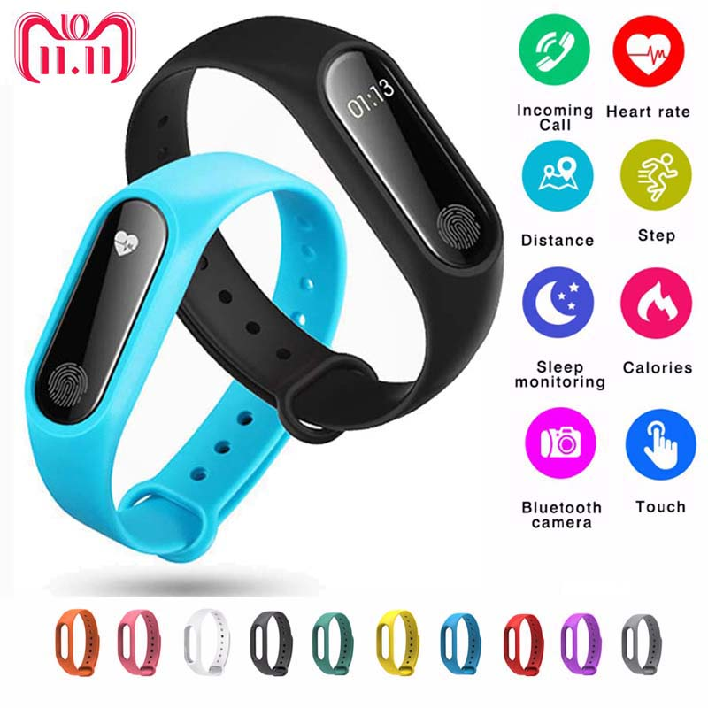 Smart Band LED Digital watch Man Heart Rate Monitor Bluetooth Bracelet Sleep Fitness Tracker Pedometer Wristband Women watches