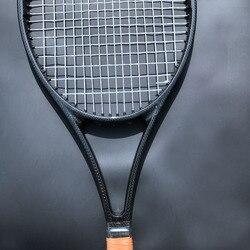 1 шт. Тайваньская Заказная PS97 100% углеродная тканая черная Теннисная ракетка 97sq. В 315 г теннисная ракетка из вспененной ручки с сумкой L2, L3, L4