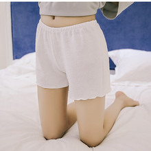 Women's Safety Short Pants Femme Summer Cool Shorts Women Underpants Woman Loose Knickers Female Thin Panties AB024