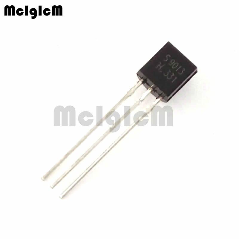 MCIGICM 5000pcs S9013 in line triode transistor TO 92 0 5A 40V NPN