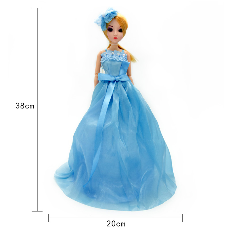 Cute-Pretty-Doll-Toys-High-Quality-Silicone-Movable-Joint-Body-Princess-Wedding-Dress-Dolls-Best-Gift-for-Girl-Kids-13-Colors-5