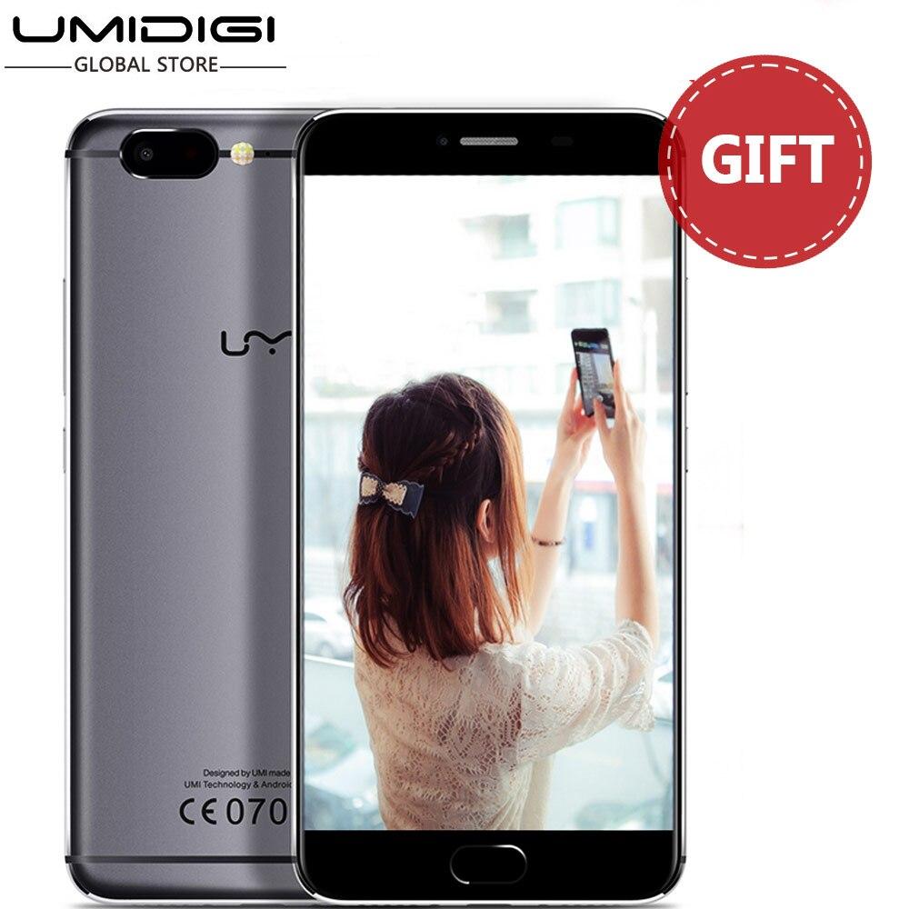 Цена за Оригинальный новый umi z helio x27 дека core двойной 13mp камеральная full metal unibody смартфон 5.5 'unlocked мобильного телефона android 6.0
