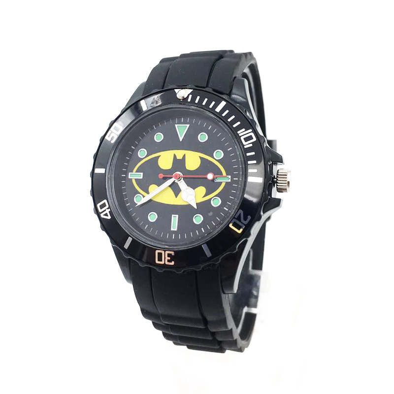 The Avenger Captain America students watches quartz wrist watch for kids cool boys clock black pu strap drop shipping (40)