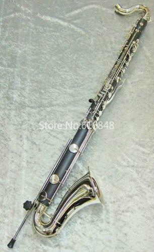 2018 Nouveau JUPITER JBC1000N Clarinette Basse Haute Qualité Jouer Musical Instrument Noir Tube Clarinette Avec Cas Embout