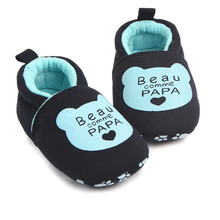 Toe Flats Soft Slippers Shoes Lovely Toddler First Walkers Baby Shoes Round MM522