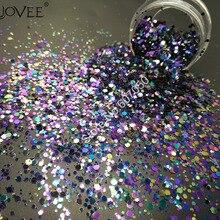 021# Хамелеон Цвет Блеск микс Металлический Блеск шестигранной формы дизайн ногтей для рукоделия украшения макияж Facepainting DIY аксессуары