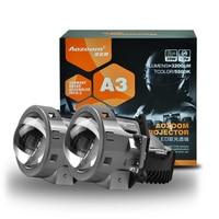 2018 Aozoom Upgrade Super Quality 2 Pcs 35W 3200LM 5500k 3.0 Inch LED Bi Projector Lens