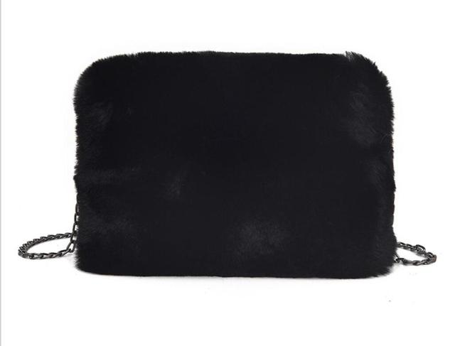 Winter Ladies Fur Bag Soft...