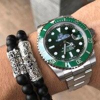 2019 8mm Matte Onxy & Pave CZ Tube Beaded Fleur De Lis Bracelet Men Women Jewelry Pulseras Mujer Best Jewelry Gifts fit watches