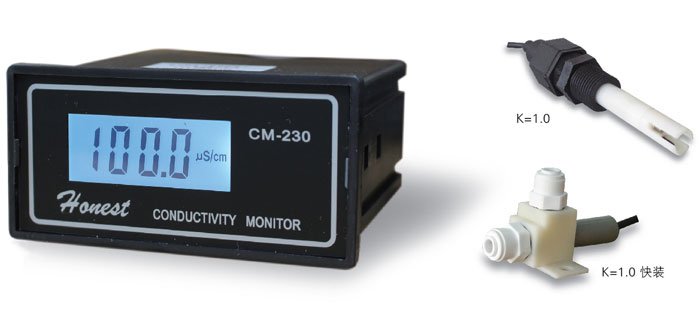 CM-230 Industrial On-line Conductivity Meter/Pure Water Machine/Pure Water Tester Optional OutputCM-230 Industrial On-line Conductivity Meter/Pure Water Machine/Pure Water Tester Optional Output