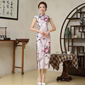 Plus Size Elegant Women Cheongsam Dress Wintersweet Chinese Dress Qipao Lady Sexy Dress Female Cheongsam Free Shipping  16