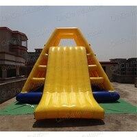 Пользовательские надувной аквапарк гигантские надувные плавающие слайд/надувная водная горка для детей и взрослых