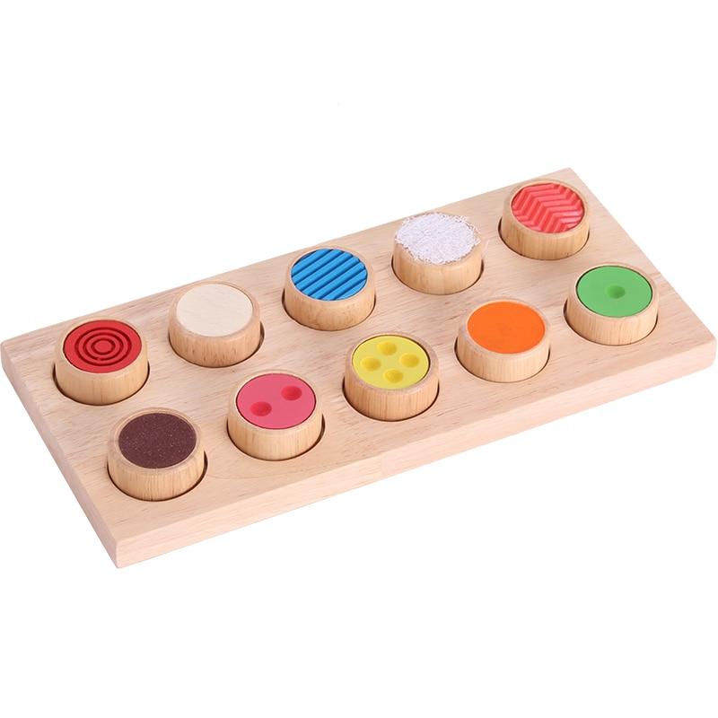 Montessori Wooden Shape Matching Toys For Children Montessori Sensorial Preschool Learning Teaching Aids For Kids Mi0566h Discounts Price Home