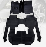 Good quality mats! Custom car floor mats for Mercedes Benz R Class W251 7 seats 2018 2006 waterproof carpets for R Class 2009