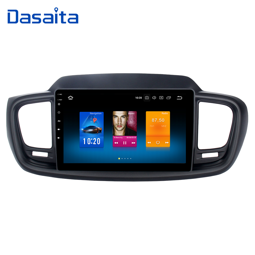 Car Radio GPS Android 9 0 for Kia Sorento 2015 2016 with 10 2 IPS Touch