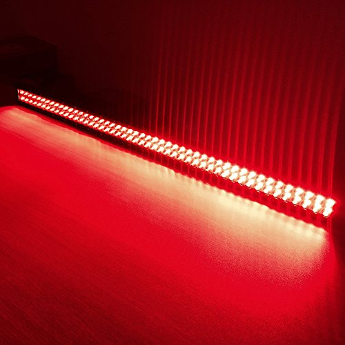 50inch 288w led light bar dual color white red switched strobe 50inch 288w led light bar dual color white red switched strobe wireless rf remote for jeep trucks boat atv suv mining hunting in light barwork light from aloadofball Images