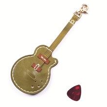 ФОТО Gathersun Mini Access Card Protector  for Guitar Lover Pick Set Holder Handmade  Leather Guitar Pick Case