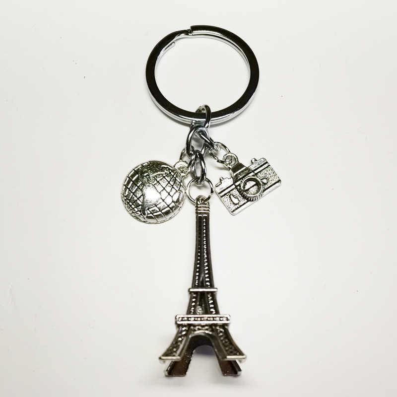 20191 шт земля Париж башня брелок кулон в виде камеры Путешествия брелок дружба лучший друг ювелирные изделия Diy ручной работы XKXLHJ