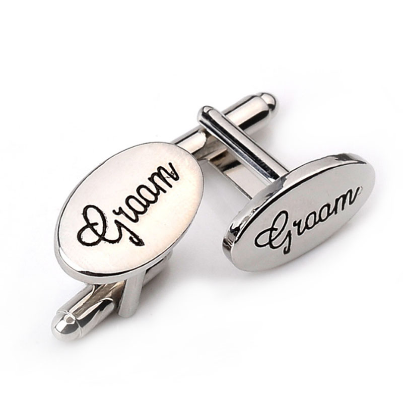 Little Round Penguin Square BBQ Grill King Cufflinks