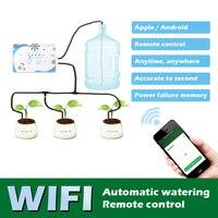 IOS/Android Intelligente Wifi A Casa Automatico Timer di Controllo Sistema di Impianto di Irrigazione Giardino Timing Pianta di Irrigazione Kit di Strumenti di