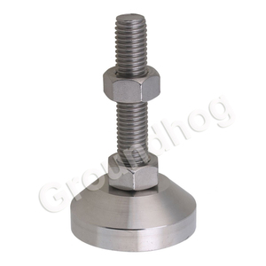 Image 3 - 4pcs Adjustable Feet Thread Dia M12x50mm Fixed Universal Leveling Stainless Steel feet foot for Machine Furniture 1.5 ton load