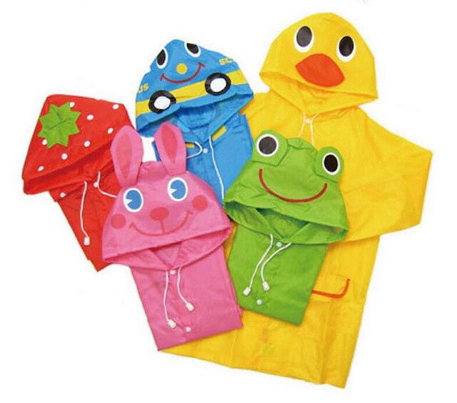 be3029670cb Kids Regenjas Leuke Kinderen Regenkleding Waterdicht Animal Regenjas  Jongens en Meisjes Regen Pakken Nieuwe Mode Gratis