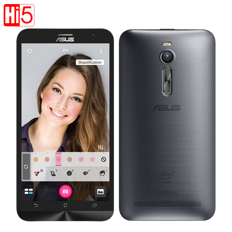 "Original ASUS Zenfone 2 Ze551ML mobile phone Android Cell Phones 4GB RAM 32GB 5.5"" 1.8GHz Wifi 13MP Camera free shipping"