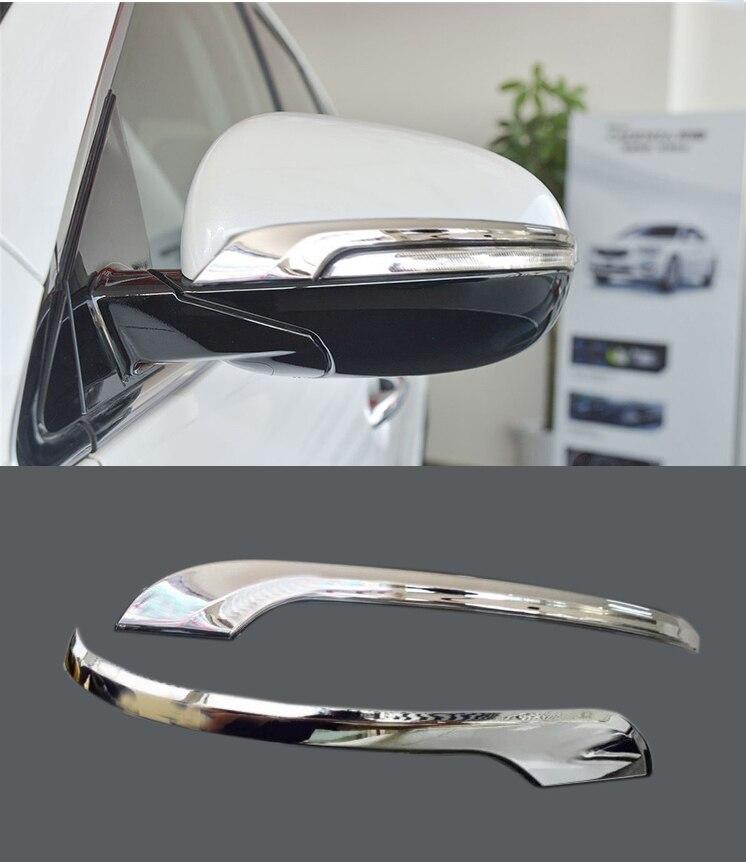 Chrome Side Mirror Cover for 2015-2017 KIA Sorento Side Mirror Rearview
