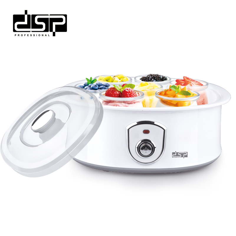 DSP Electric yogurt maker with 7 cups 1 5L automatic universal stainless steel liner Natto rice