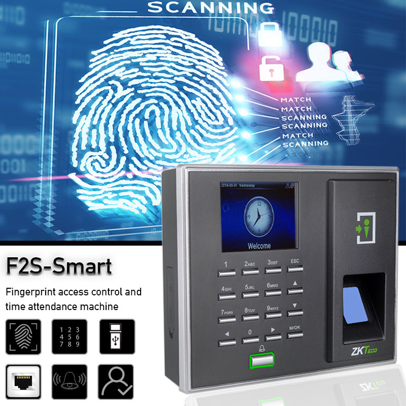 Bio Fingerprint Sensor Full Access Control Function ZKTeco ZMM220 Wiegand Output and Input Door Fingerprint Attendance